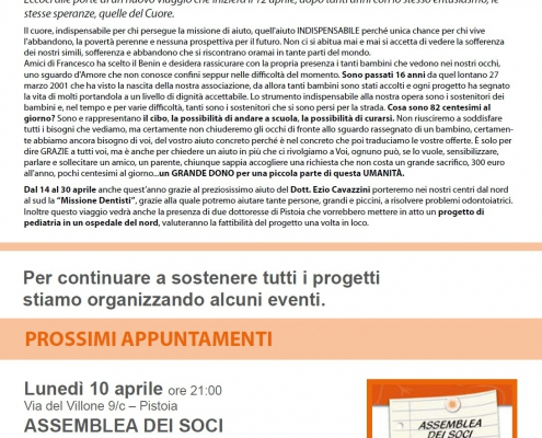 Newsletter Marzo Aprile 2017