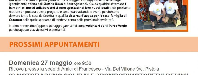 Newletter Maggio Giugno